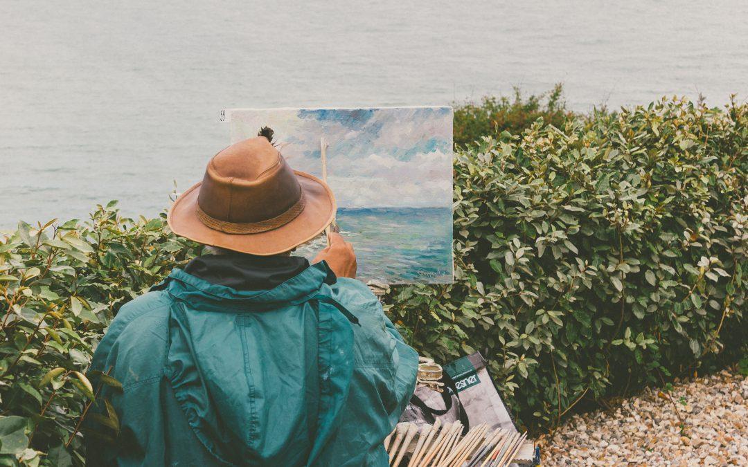 Wie zeichnet man ein Landschaftsbild?